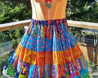 Corset dress, Party dress, festival dress, gypsy dress, mini 2 piece set