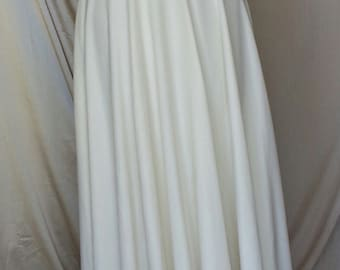"""Vintage Bridal wedding Gown 1970's """"As Is"""""""