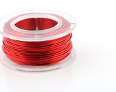 25% OFF!! WIRE - 20g (AWG) Red Enamel Copper Wire - 10 yard spool.