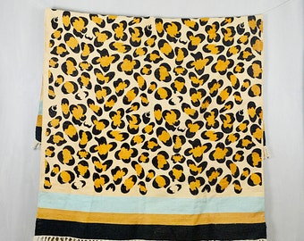 20 PERCENT OFF Code: 20FOR17 > 1960's Mod Leopard Print Dhurrie Rug