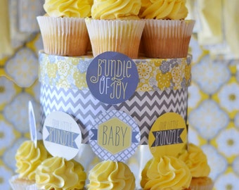 Bundle Of Joy PRINTABLE Party Circles by Love The Day