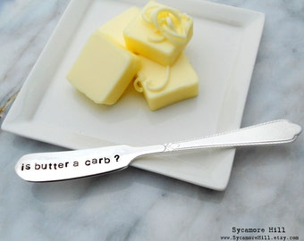 CUSTOM SPREADER Butter Spreader. Cheese Spreaders. Make Your Own Hand Stamped Vintage Individual Spreader. PERSONALIZED Cheese Knife. Spread
