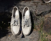 80's Leather Sperry Top-Sider Boat Shoes Loafers