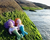 Crochet pattern PDF - Mermaid Doll Amigurumi Crochet Pattern PDF  - Instant  DOWNLOAD