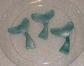 Gumpaste Mermaid Tail / Fin Cupcake Toppers