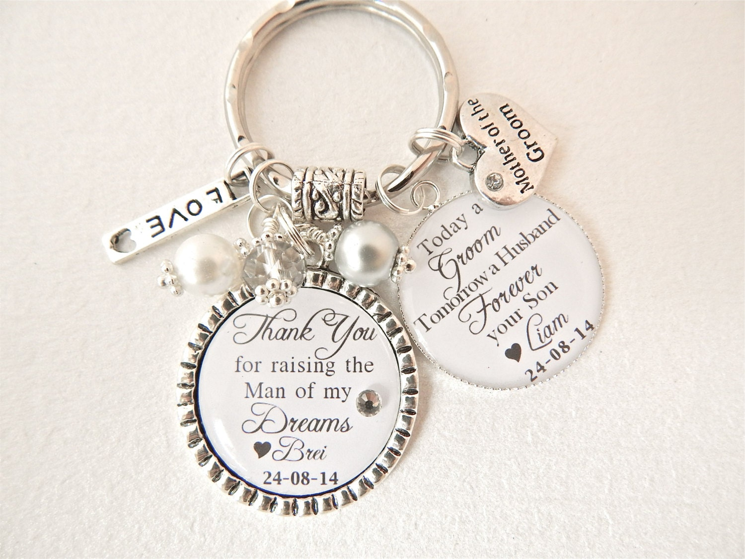 Grooms Gift To Mom: PERSONALIZED MOTHER Of The Groom Gift Mother Of Bride Today A