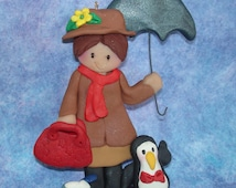 Unique penguin cake topper related items etsy for Storybook nanny