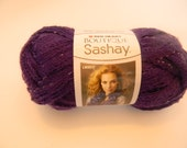 Red Heart Boutique Sashay Yarn Purple Yarn Red Heart Purple Sashay Yarn