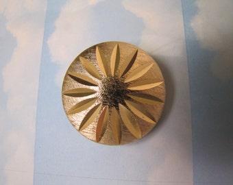 Vintage Western Germany Hallmarked Laser Cut Sparkly Scarf Clip Brooch Jewellery Jewelry