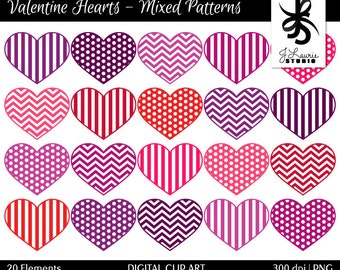 digital clipart hearts valentine hearts valentines clipart red pink purple