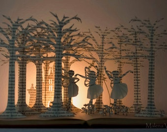 Malena Valcarcel By MalenaValcarcel On Etsy - 21 incredible works art sculpted books
