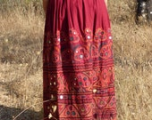 Tribal skirt- hand embroidery