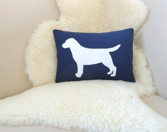 Labrador Retriever Pillow Cover - Custom Colors