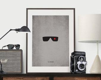 Terminator - Minimalist Arnold Print