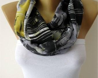 SALE ! 9,90 USD Infinity Scarf Shawl Circle Scarf Loop Scarf ,Gift scarf