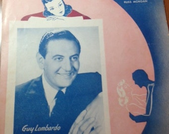 Somebody Else is Taking my Place sheet music Guy Lombardo