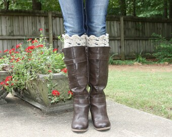 Crochet Boot Cuffs - Many Colors Available