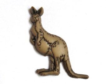 Kangaroo- Tie Tack- Lapel Pin