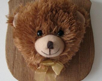 Mounted Stuffed Animal Etsy