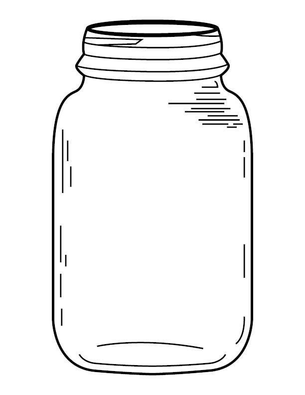 Pin Cookie Jar Coloring Page Printable Image Search Results On Pinterest