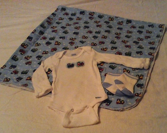 Baby Boy Onesie Set