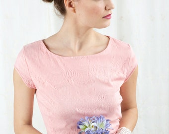 bridal flower crown, floral hair wreath, pink bridal hairpiece, purple wedding -SYBELLE- wildflower hair accessories, flower circlet