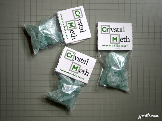 Make fake Crystal meth