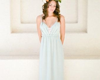 The Ocean Beach Silk Wedding dress As featured on Wedding Inspirasi