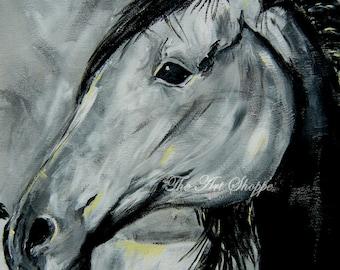 Horse Portrait-8x10-print