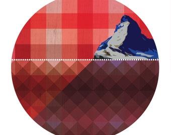 Matterhorn - Art Print