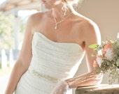 Bridal Sash, Rhinestone Bridal Sash, Beaded Bridal Sash, Pearl Bridal Sash, Rhinestone Sash, Rhinestone Belt, Bridal Belt, Beaded Belt