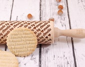 MADE BY... – personalized embossing rolling pin