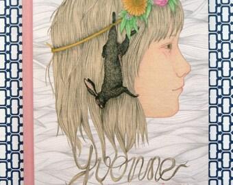 Yvonne l'enfant Château, le livre