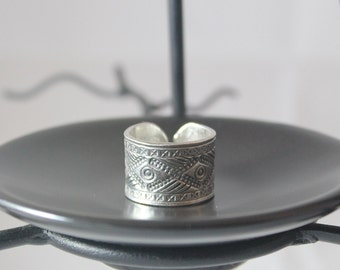 Simple Life Tribal Sterling Silver Ring