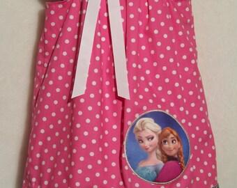 ELSA & ANNA Dress / Frozen / SISTERS Forever / Birthday / Pink / Purple / Disney/ Disney Inspired/ Girl / Toddler / Custom Boutique Clothing
