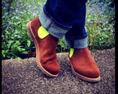 Handmade Ankle Boot for women - can be personalised.