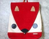 Backpack - Nutkin The Squirrel UNISEX BackPack (Burgundy Fawn) 4 WEEKS TURNAROUND