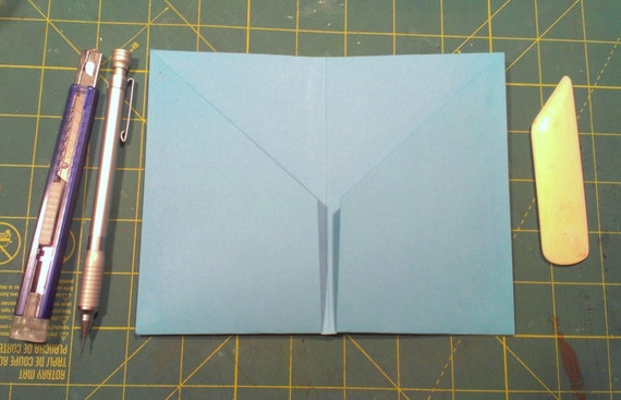 Slim Two Pocket Insert for Field Notes Sized Notebook and Journal Covers