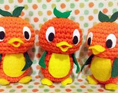 Made-to-order Disney Orange Bird Amigurumi Plush Doll