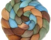 Handpainted Merino Wool Roving - 4 oz. COPPER HILLS - Spinning Fiber