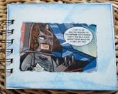Batman Lego notebook