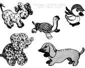 TINY TOYS PDF Pattern #975