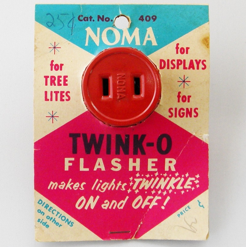 Noma Twink-O Flasher Makes Lights Twinkle Christmas Outlet