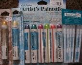 SHIVA paint sticks & Tsukineko blending sticks