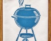 NEW organic grill tea towel
