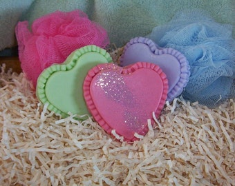 Ruffled Heart Silicone Soap Mold Wedding Shower Favor Mold Ornament Valentines Day Love Mothers Day DIY Craft Molds