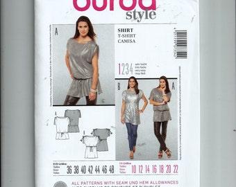 Burda Style Shirt/ T-Shirt Pattern 7354