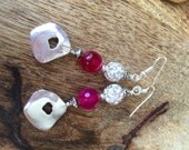 Fuchsia dream earrings