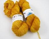 arthur - aquae singles, fingering weight sock yarn (dyed to order)