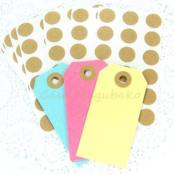 270 Kraft Hole Reinforcement Stickers